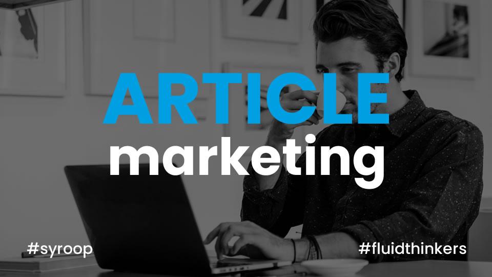 Article Marketing, che cos'è e come si fa